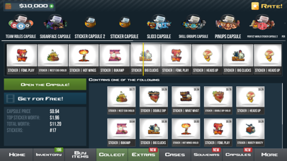 CS GO Case Simulator Screenshot