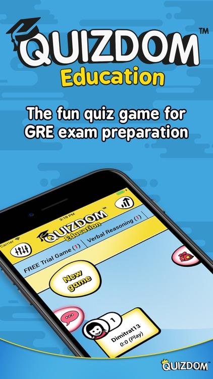 Quizdom Education - GRE prep
