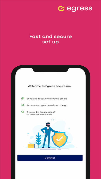 Egress Secure Mail screenshot two