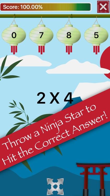 Math Facts Ninja - Math Games screenshot-3