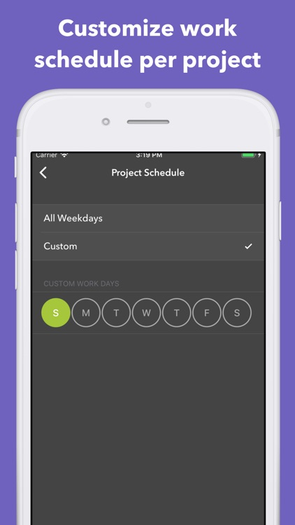 Manifest Smart Time Tracker screenshot-5