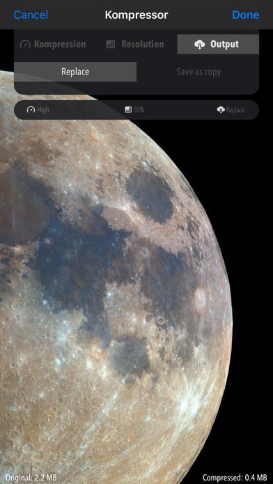 Kompressor - Compress images Screenshot 4