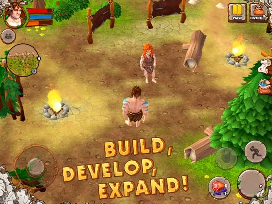 Caveman Island Survival Sim 3D-ipad-1