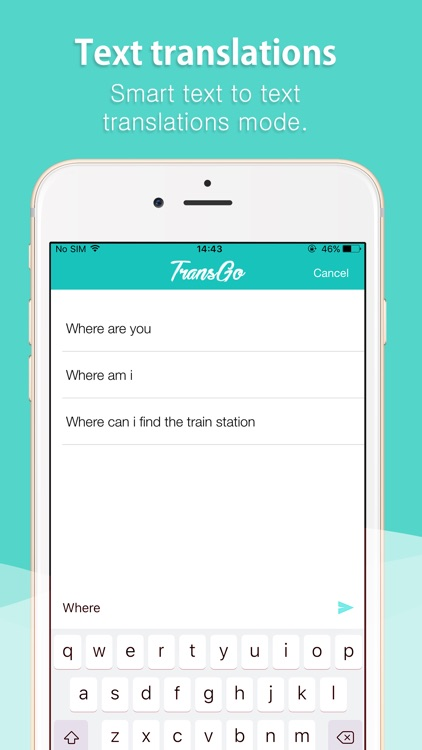 TransGo Voice & Text Translate