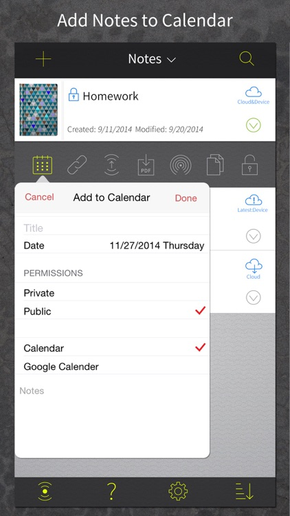 NoteLedge Ultimate screenshot-3