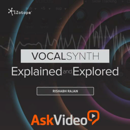 Intro Course For VocalSynth for Mac