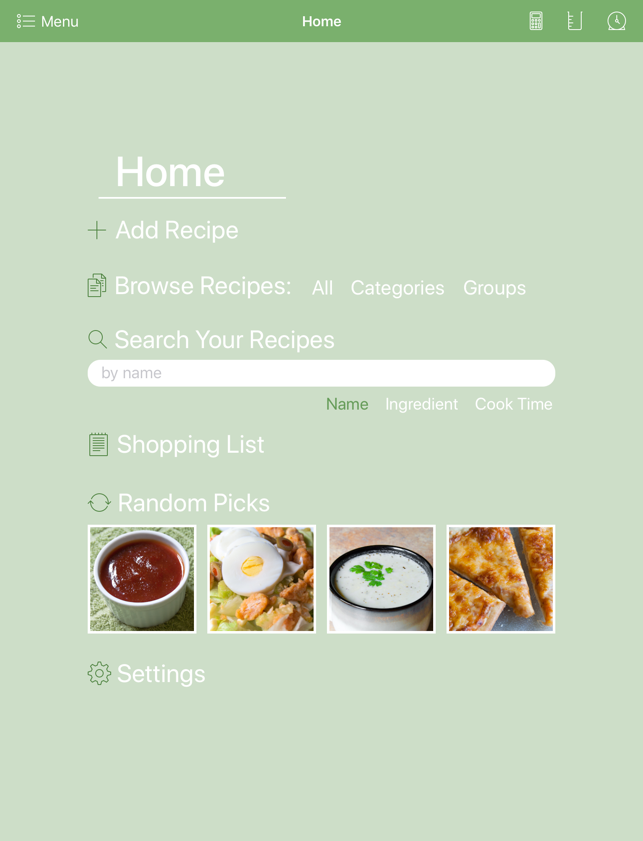 Personal Cookbook II on the App Store