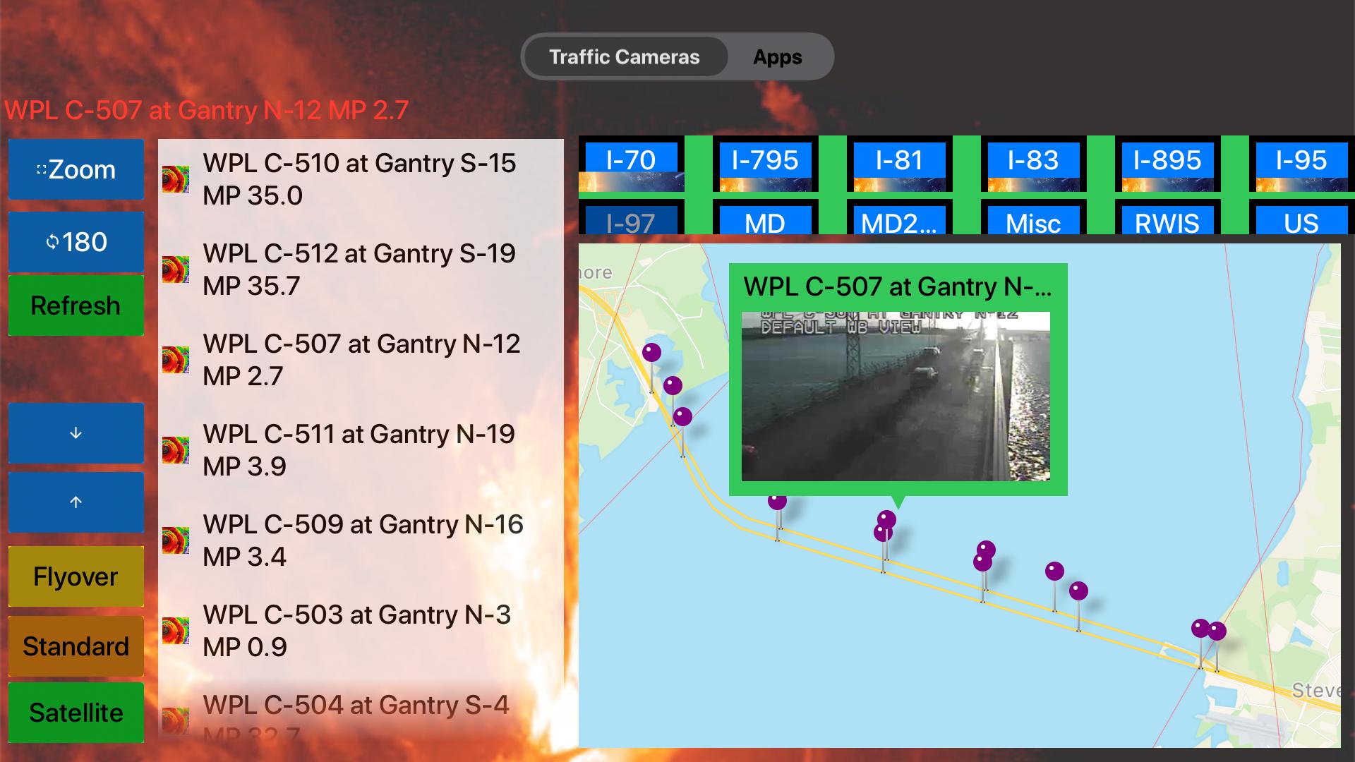 Traffic Cameras Maryland Pro screenshot 17
