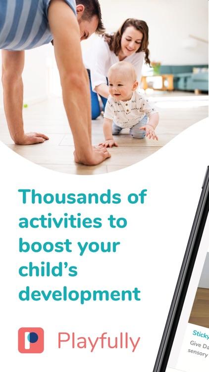 Playfully Baby Development App screenshot-0