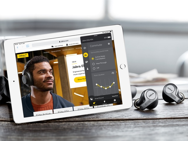 Jabra Sound+ on the App Store