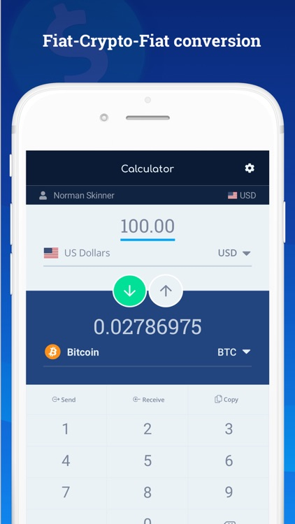Bitcoin Wallet - DoWallet screenshot-6