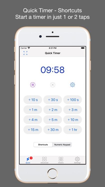 1Timer Lite - Voice Timer screenshot-0