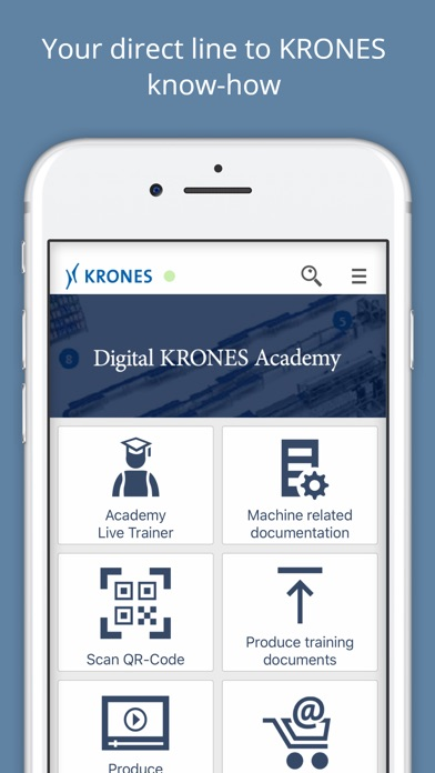 Digital KRONES Academy