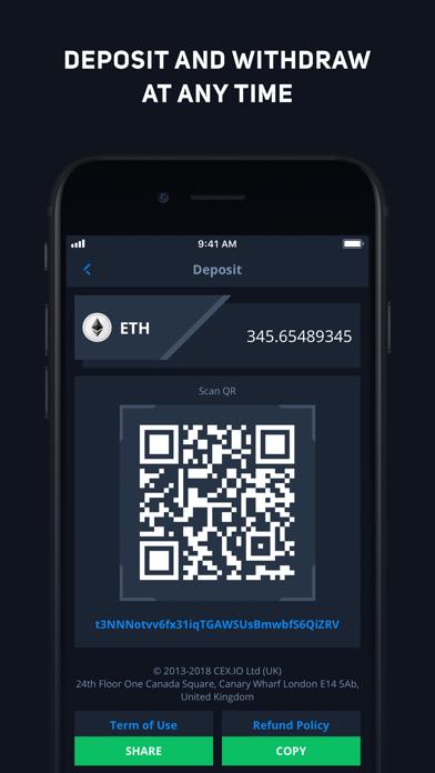 CEX.IO Криптовалютная биржаСкриншоты 4
