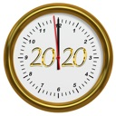 2020 Happy New Year Stickers