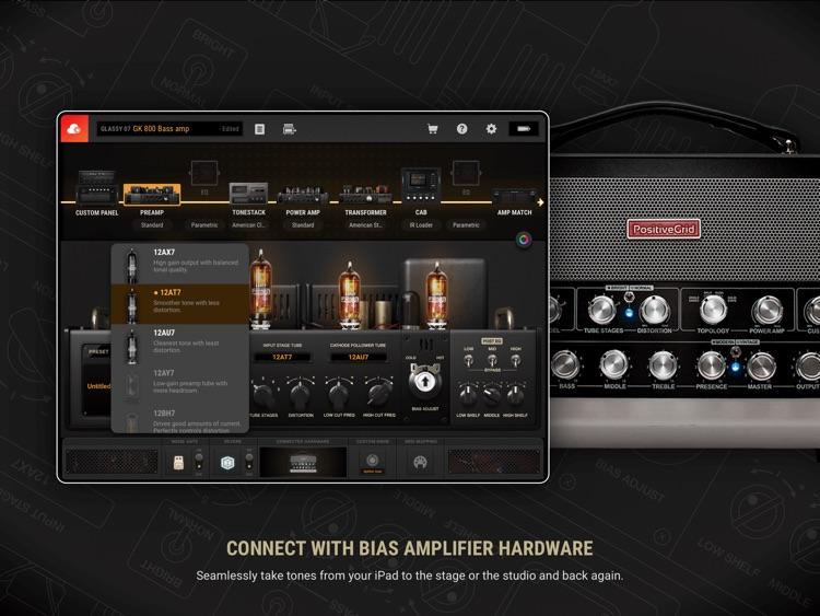 BIAS AMP 2 - for iPad screenshot-5
