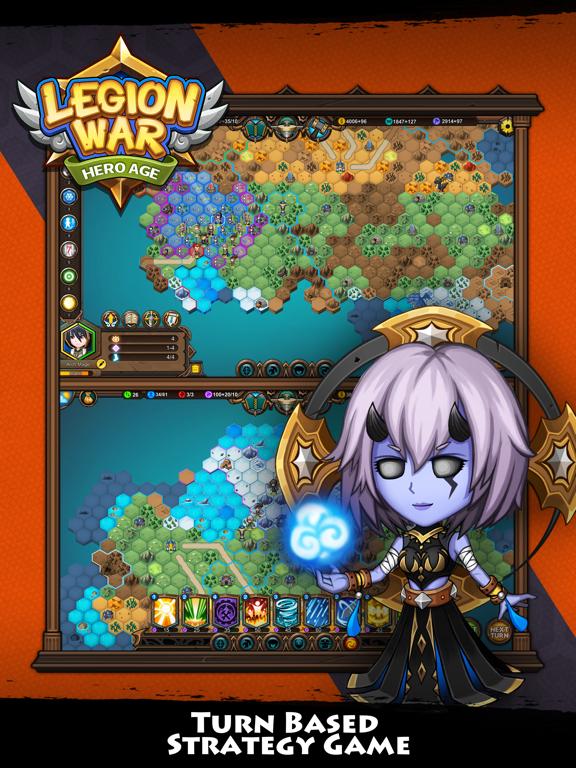 Legion War - Hero Age для iPad