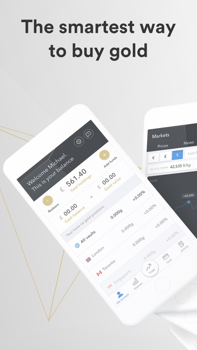 Goldex: Smart way to buy gold screenshot one