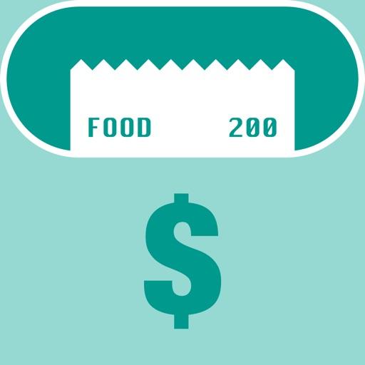 小票盒  app icon图