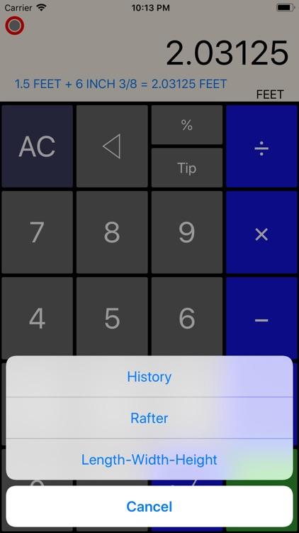 Construction Calculator++ screenshot-6