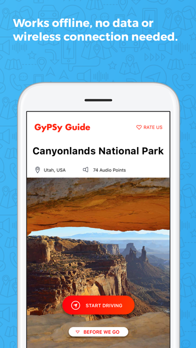 Canyonlands Moab GyPSy Guide Screenshot