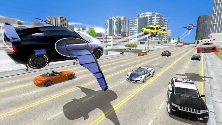 Flying Car Transport Simulator screenshot-3