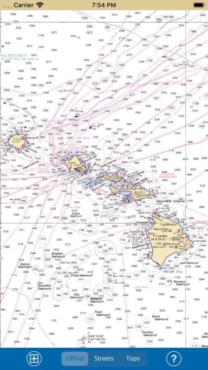 HAWAII ISLANDS – Marine Map screenshot-6