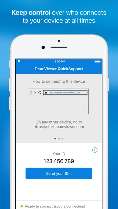 TeamViewer QuickSupport - Revenue & Download estimates - Apple App