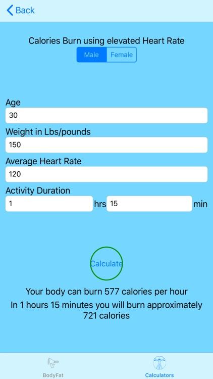 Calculate My Body screenshot-5