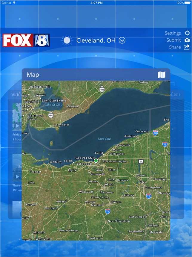FOX8 Cleveland Weather on the App Store