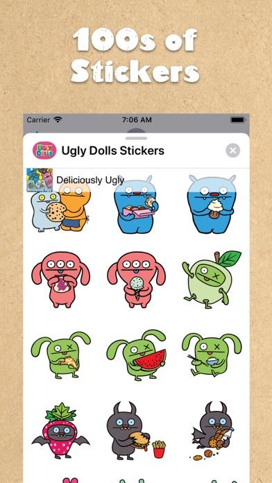 UglyDolls Stickersのおすすめ画像3