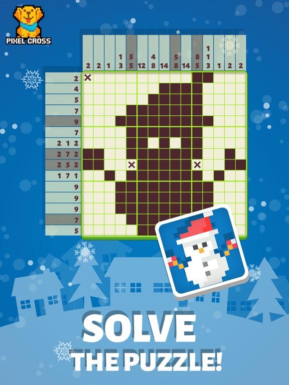 Pixel Cross™-ピクロス謎解きゲームのおすすめ画像6