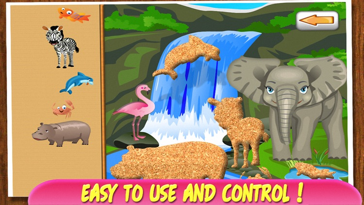 Animal Puzzle - Learning Game