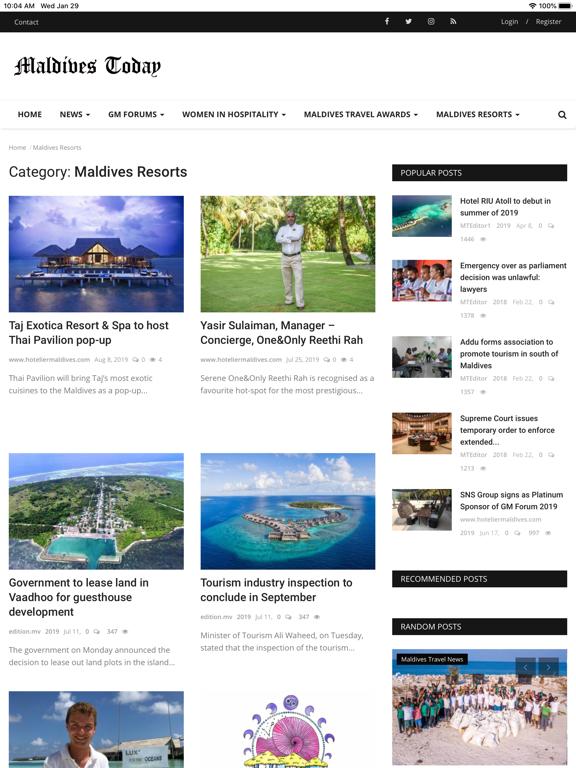 Maldives Today screenshot 11