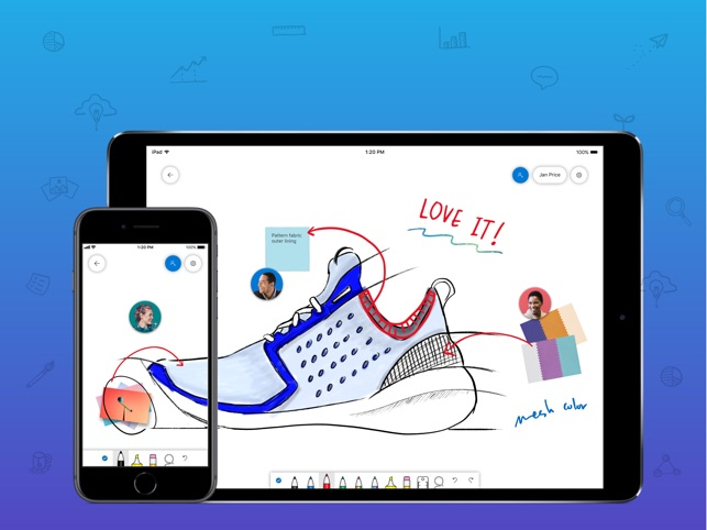 Microsoft Whiteboard on the App Store