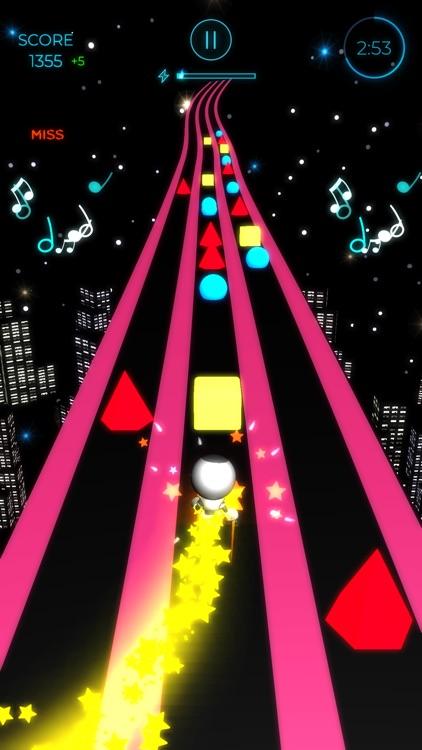 Beat Runner - EDM Music Arcade screenshot-0