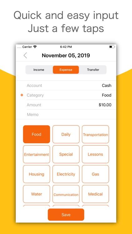MoneyLog - Easy Bookkeeping