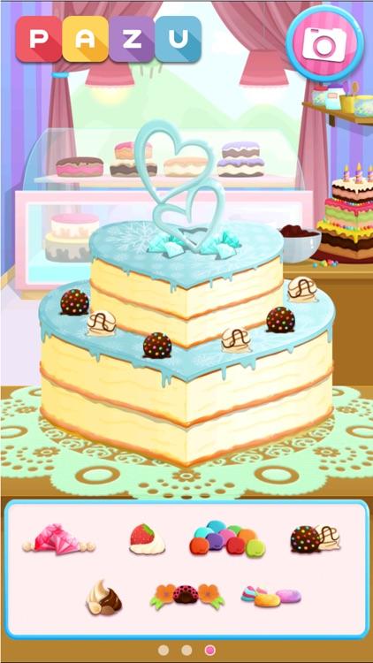 Cake maker Cooking games screenshot-3