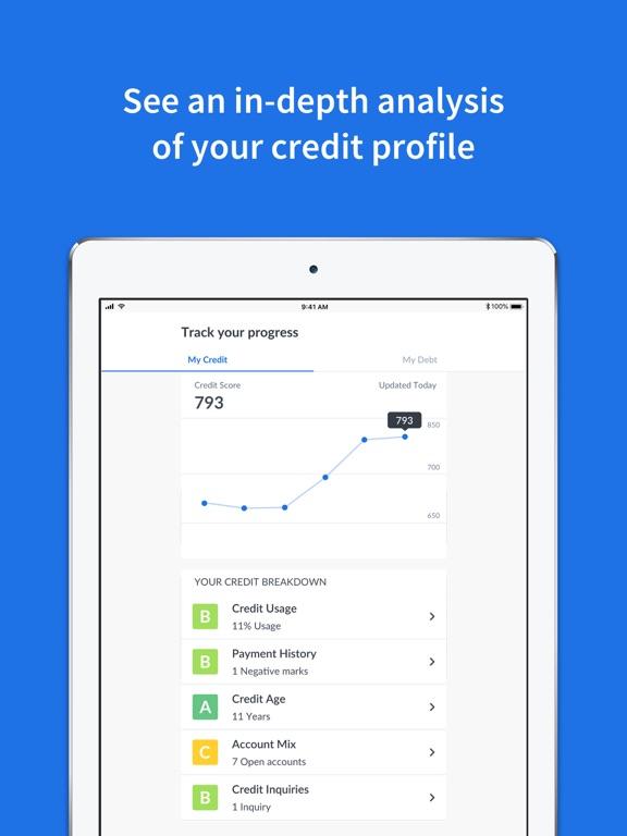 Credit Sesame: Free Credit Score, Credit Monitoring & ID Protection screenshot