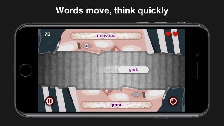 Wordeaters: German & French screenshot-4