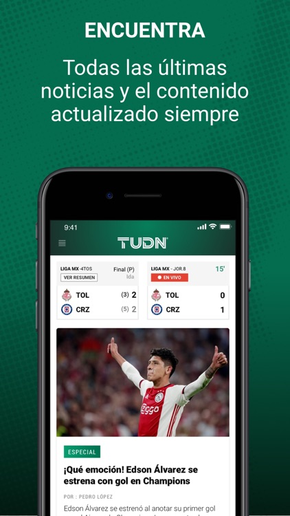 TUDN screenshot-2