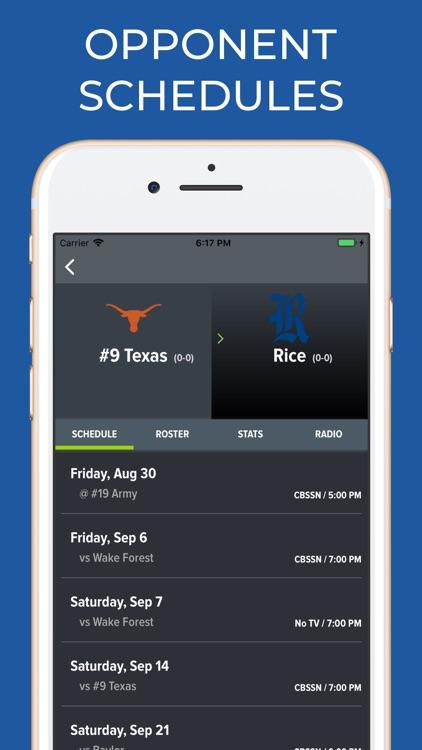 UT Texas Football screenshot-6