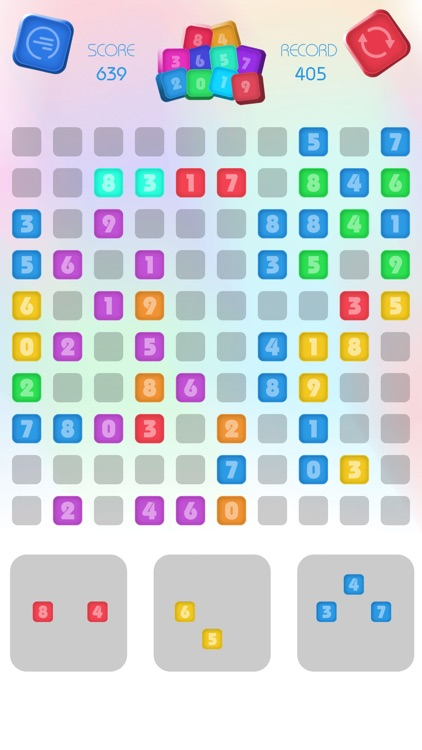 Numbers Block Puzzle - Match 3
