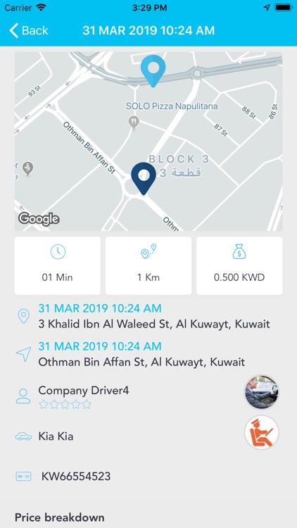 Talyaa تاليا -Taxi Booking App screenshot-7