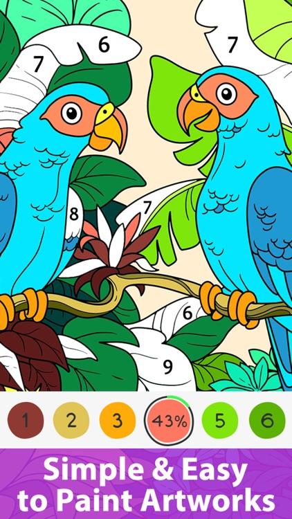 Doodle Color - Coloring Book screenshot-3