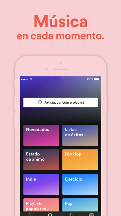 Screenshot for Spotify: música y podcasts in Spain App Store