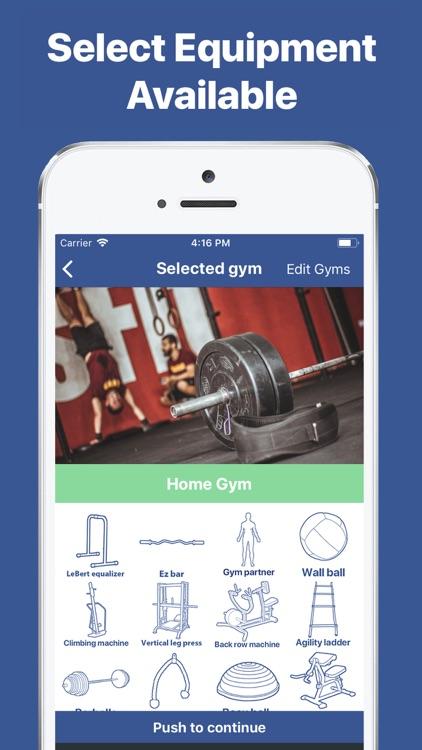 Gymster+ IIFYM & Gym Workouts screenshot-0