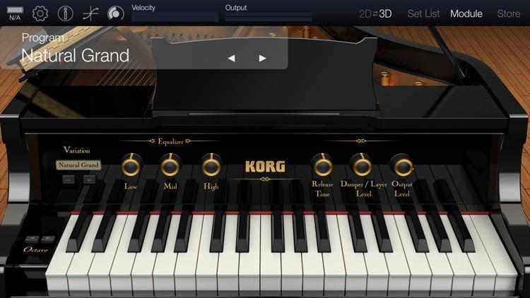 KORG Module Pro screenshot-0