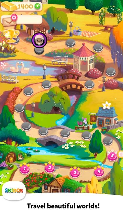 Flower Maths: Cool Kids Games screenshot-3