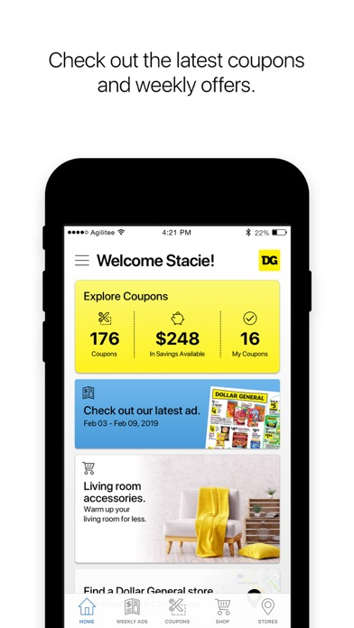 Screenshot for Dollar General in United States App Store